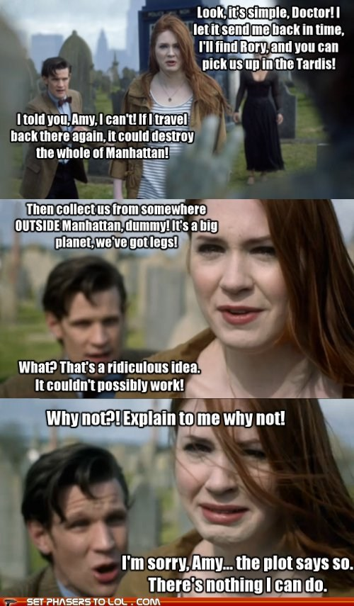 manhattan,karen gillan,plot,weeping angels,the doctor,Matt Smith,doctor who,ridiculous,amy pond