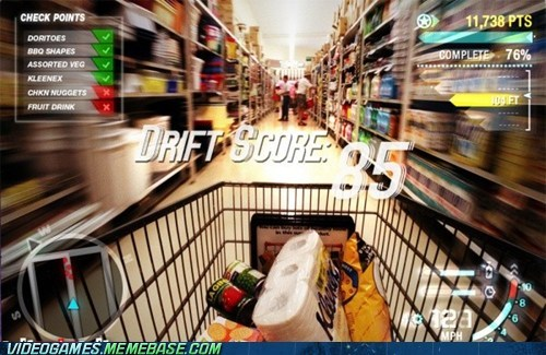 IRL,need for speed,shopping