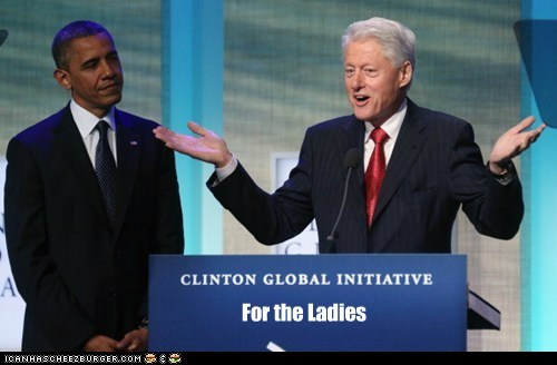 barack obama,bill clinton,for the ladies,speech,ulterior motives