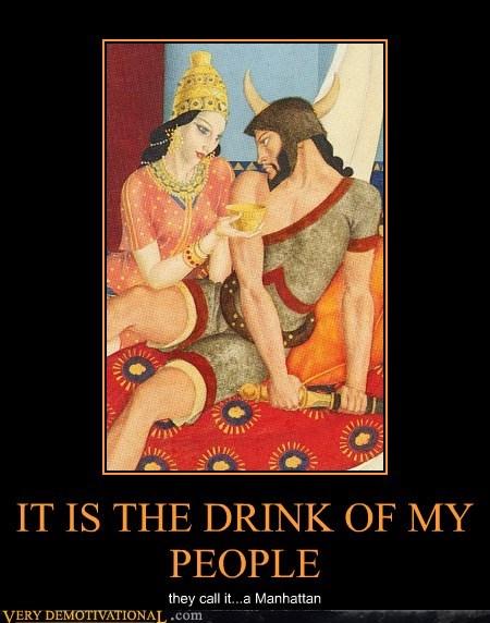 booze drink manhattan delicious - 6627300096