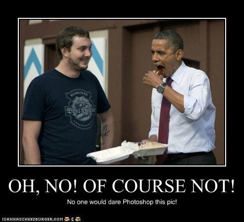 Awkward photoshop barack obama eating - 6627388928