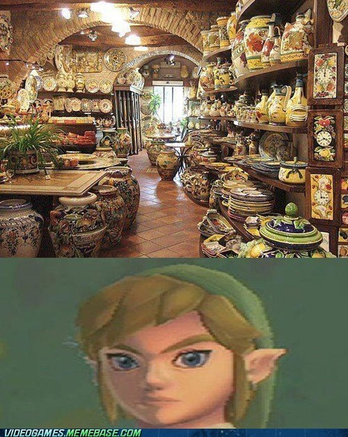 going out of business,pots,rupees,zelda