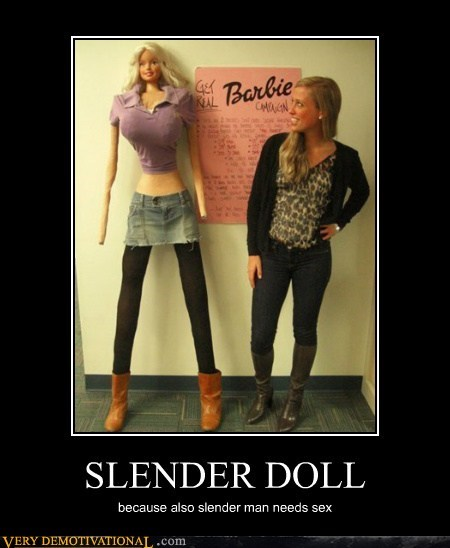 Barbie sexy times slenderman - 6627796736