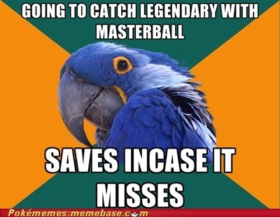 legendary masterball meme Paranoid Parrot categoryvoting-page - 6628231680