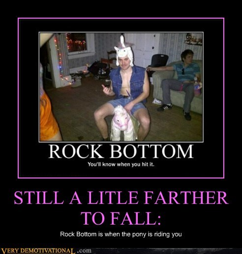 pony rock bottom wtf - 6628450816