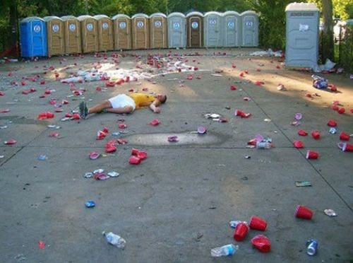 alcohol Party passed out red cups too drunk war zone - 6628602880