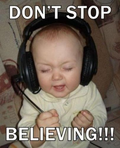 baby dont-stop-believing headphones journey - 6628656640