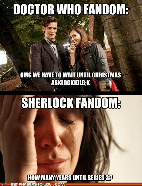 Sad,wait,christmas,oswin oswald,the doctor,jenna-louise coleman,Matt Smith,years,doctor who,Sherlock,fans