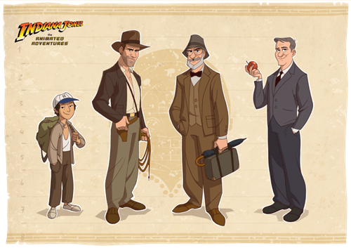 animated series Indiana Jones - 6628756224