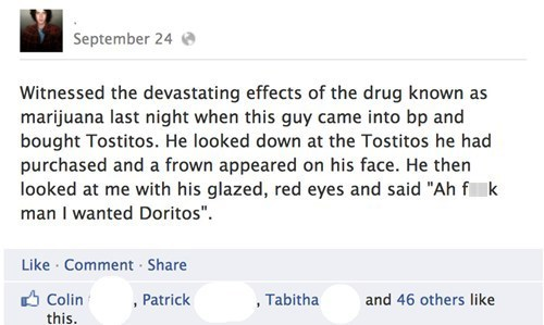 doritos marijuana Not Even Once tostitos weed
