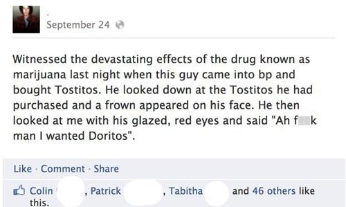 doritos marijuana Not Even Once tostitos weed - 6628791296