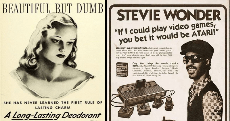 Funny vintage advertisements.