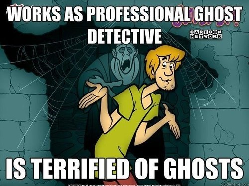 shaggy scooby doo ghost hunter ghosts cartoon network - 6629234432