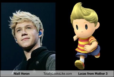 Niall Horan Totally Looks Like Lucas from Mother 3 - Totally