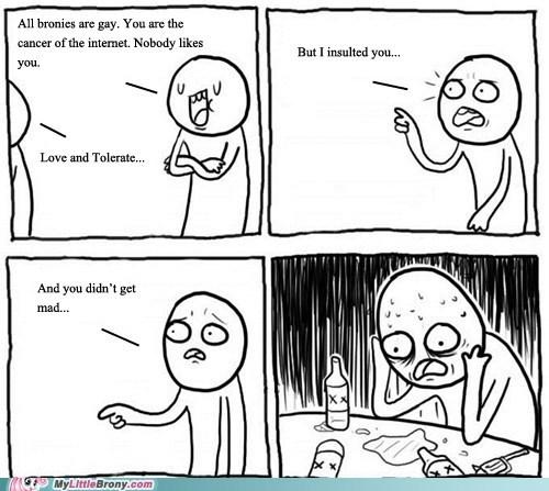 Bronies love and tolerate meme - 6629292288