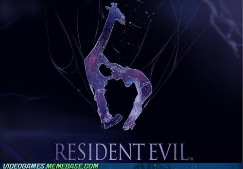 a logo changes everything,logo,new release,resident evil 6