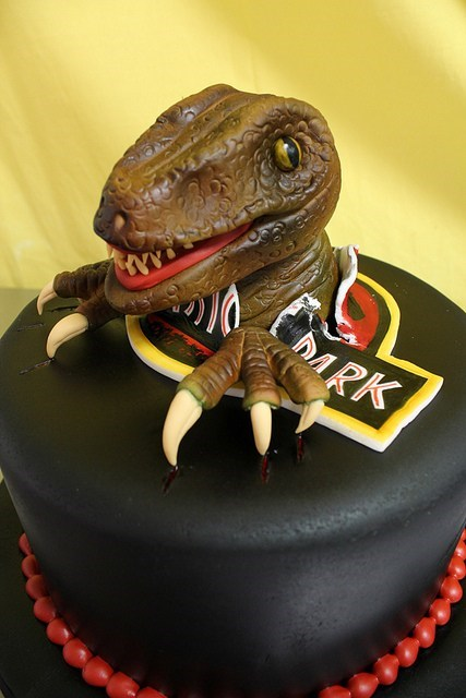 cake dinosaur jurassic park - 6629357568