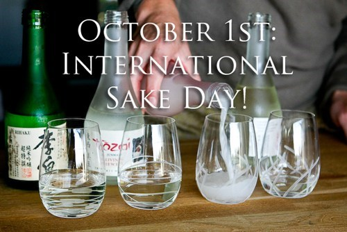 drinking holidays international sake day october 1st