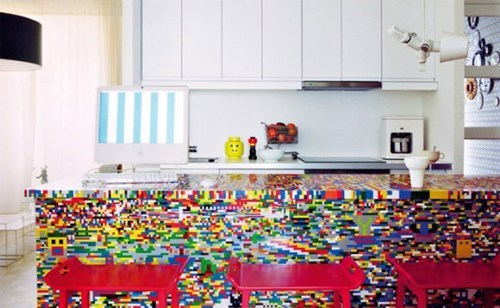 design kitchen lego nerdgasm