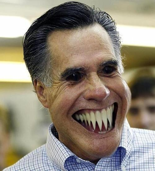 eldritch,horror,Mitt Romney,monster,nightmares,teeth
