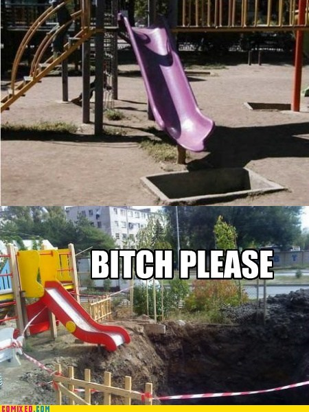 pit,playground,please,slide