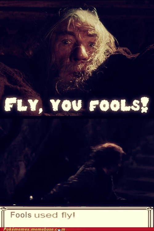 fly gandalf Lord of the Rings move - 6629897984