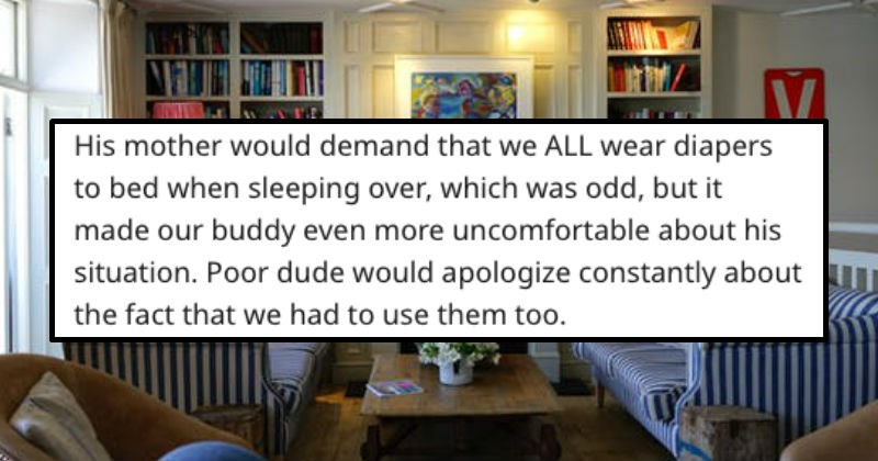 askreddit stories about the weirdest house rules people had to live with