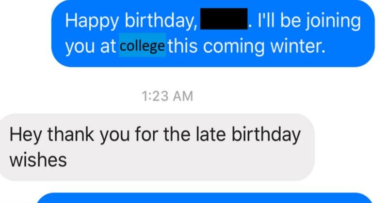 cringe text conversation