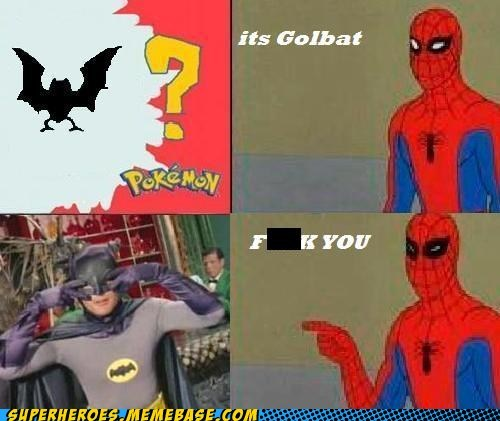 Adam West,golbat,Pokémon,Spider-Man