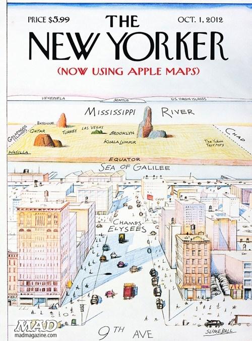 apple maps New Yorker - 6631486208