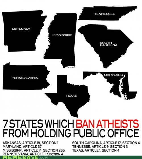 land of the free america atheism Office politics - 6631590656