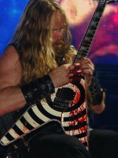 Blood guitar zakk wylde - 6631601152