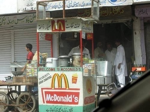 arabic McDonald's seems legit