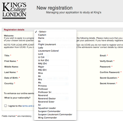 college kings college London salutation university - 6631618304