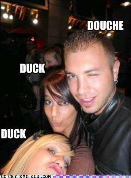 douche duck duck goose duck face - 6631881472