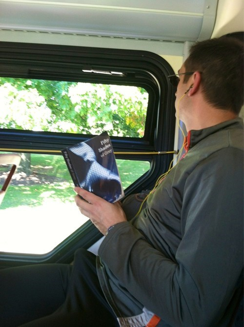 broner,fifty shades of grey,reading material