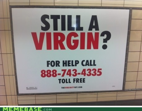 IRL sign virgin - 6632027136