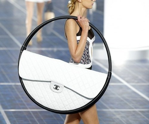 bag chanel fashion hula hoop if style could kill purse runway style - 6632037120