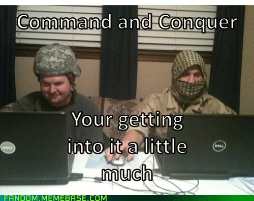 Command and Conquer!