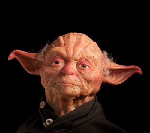 Fan Art,human,old man,rendering,star wars,yoda