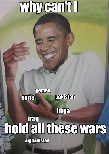afghanistan,barack obama,drop,iraq,wars,why-cant-i-hold-all-these-limes