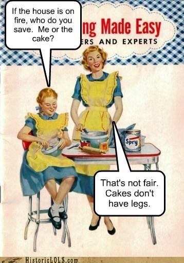 joke mother daughter cake fire - 6632465408