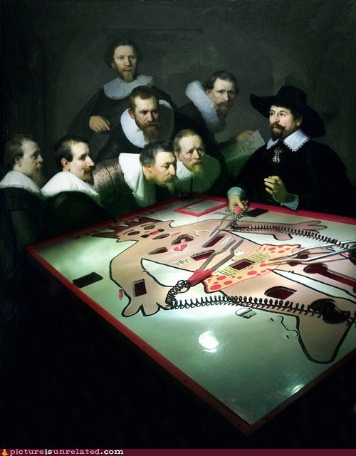 anatomy lesson operation game painting categoryimage - 6632483072