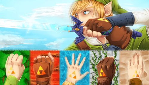 legend of zelda,link,triforce,Fan Art,video games