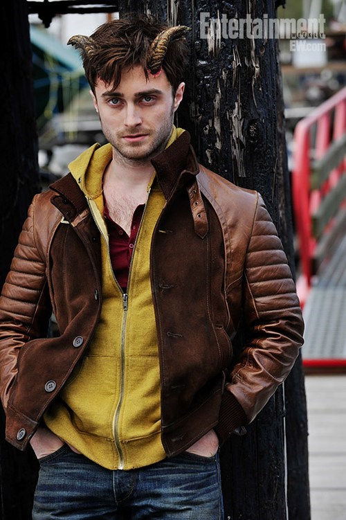 Daniel Radcliffe Harry Potter horns
