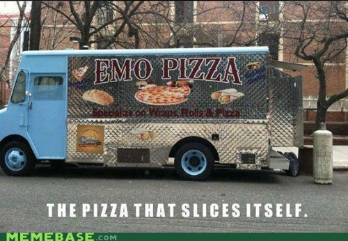 classic,food truck,pizza,self harm