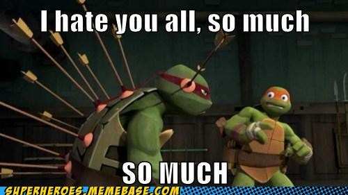 arrows,raphael,so angry,TMNT