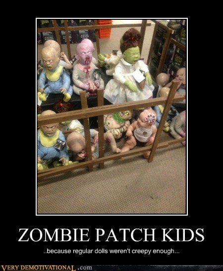 ZOMBIE PATCH KIDS ..because regular dolls weren't creepy enough...