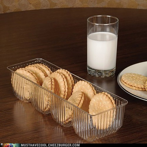 cookies tray glass plastic illusion package - 6634294784