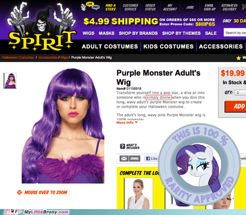 halloween rarity spirit store wig - 6635049984